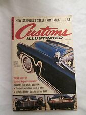 Customs Illustrated Magazine July 1962
