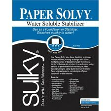 Sulky Paper Solvy Water Soluble Stabilizer - 102494