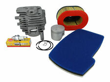 Cylinder, Piston, Spark Plug, Air Filter Service Rebuild Kit Fits PARTNER K650