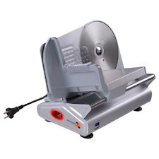 "Electric Meat Slicer 7.5"" Stainless Steel Blade Food Cutter Premium Kitchen Home"