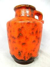 "Beautiful "" Lava ""  glazed 70´s design Carstens Keramik pottery vase 0552 - 20"