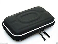"Black Hard Carry Case Pouch Bag Zipper Pouch 2.5"" HDD GPS Garmin Nuvi Portable"
