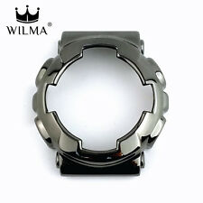 WILMA Chrome Black Metal Bezel FOR G-Shock GA-110 / GA-120 / GD-100 (C-110-2A)