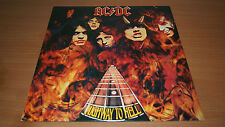 AC/DC Highway to Hell Australian Press LP Vinyl Record Alberts Red Label OOP NM