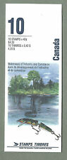 CANADA 1992 Booklet #368 - WATERWAYS OF INDUSTRY - (10 @ 42c) - Complete - MNH