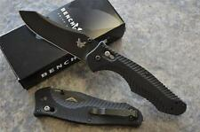 Benchmade 810BK Contego Tactical Axis Lock Folding Knife w/ Glass Breaker Tip