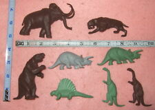 Orig. old 1950's Marx Prehistoric Dinosaurs for playsets