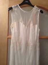 """BNWT """" Next """" Size 12 Tall Lace Floral Mesh Weddings Christening Races Dress New"""