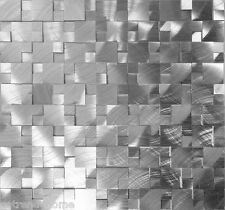 SAMPLE- 3D Metal Stainless Steel Patern Mosaic Tile Wall Sink Kitchen Backsplash