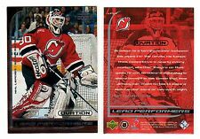 1X MARTIN BRODEUR 1999-00 UD Ovation #LP17 LEAD PERFORMERS INSERT Lots Available
