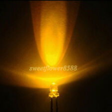 2000ps 3mm Round 5000mcd Yellow Ultra Bright LED Lamp Light Free Shipping New