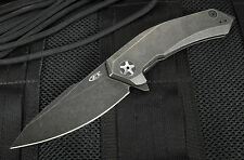 ZERO TOLERANCE KVT TITANIUM FRAMELOCK FOLDING KNIFE S35VN STAINLESS 0095BW NEW