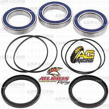 All Balls Rodamientos de la rueda Eje trasero & Sellos Kit Para Honda TRX 450R 2008 Quad
