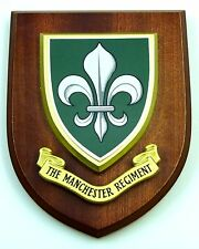 THE MANCHESTER REGIMENT REGIMENT CLASSIC HAND MADE REGIMENTAL MESS PLAQUE