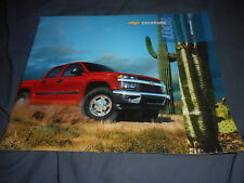 2007 Chevy Chevrolet Colorado Pickup Truck Color Catalog Brochure Prospekt