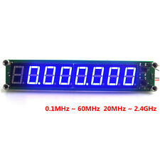 """Digital Frequency Counter Meter Blue LED Cymometer 8 Digits 0.56"""" 60MHz Detector"""