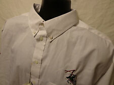 "Ash City ""WINE TASTING"" Polyester Blend BUTTON FRONT MEN'S SHIRT L NWT"