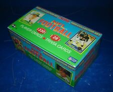 1989 SCORE FOOTBALL EMPTY FACTORY SET BOX *INV0882