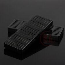 2 x Rectangle Tobacco Smoking Cigar Humidor Humidifier (Black)