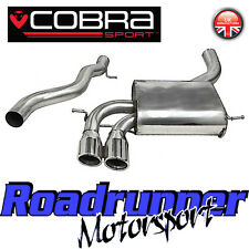 "Cobra Audi S3 2.0 Quattro Exhaust System 3"" Stainless Cat Back Non Res (3 Door)"