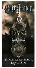 Harry Potter: Official Ministry Of Magic Cast Metal Keychain - New & Sealed