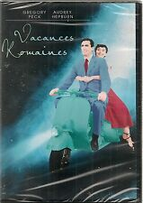 "DVD ""VACANCES ROMAINES"" - AUDREY HEPBURN - GREGORY PECK neuf sous blister"