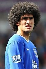 Football Photo MAROUANE FELLAINI Everton 2012-2013