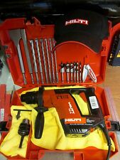 HILTI TE 5 HAMMER DRILL, WOOD SET, MADE IN GERMANY, FREE EXTRAS INCLUDED