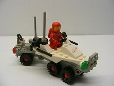 ♥LEGO red minifig moon classic set 6870 SPACE PROBE LAUNCHER 100% complete
