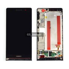 Huawei Ascend P6 P6-U06 Full Touch Digitizer+LCD Display Assembly+Frame Black