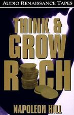 Think and Grow Rich by Napoleon Hill 1987, 2 Cassette Tapes Audio Book