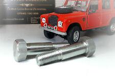 Land Rover Series 3 Windscreen Bulkhead Hinge Pivot Bolt Stainless 346989 x2