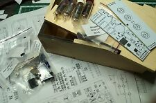 Nixie tube clock kit 2.0 with IN-16 Tubes in wood box