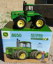 2016 ERTL 1:64 JOHN DEERE 8650 w/DUALS *TOY FARMER NATIONAL FARM SHOW* NFTS NIB