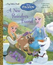 Disney Frozen A New Reindeer Friend Hardcover Book!! New Story with Anna & Elsa!