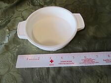 Fisher Price Fun with Food Pot Pan stove part Replacement shallow dish white toy