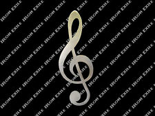 Treble Clef Metal Music Note Wall Art Home Decor Musical Rock Classical Jazz USA