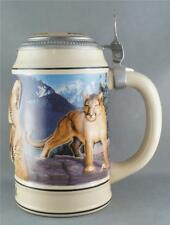 Anheuser-Bush Budweiser Endangered Species Stein Cougar