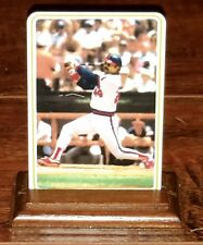 RARE REGGIE JACKSON 1985 ARMSTRONG PRO CERAMIC with WOOD STAND, ANGELS, FAX AUTO