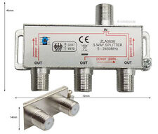SAT-di distribuzione, Y-Splitter, antenne, di distribuzione, Cavo coassiale TV 3-way SPLITER, #636