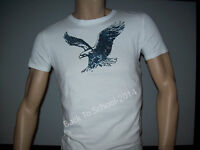 MENS AMERICAN EAGLE AE GRAPHIC T-SHIRT Guys White XS  FREE SHIPPING!!