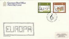 (42825) GB Guernsey FDC EUROPA - 14 May 1985