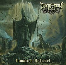 Discreation-procreation of the Wretched CD NUOVO/scatola originale!