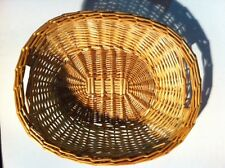 Display Basket Natural Willow Trays for Bread Produce Centerpiece Gift 12 count