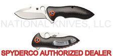 """Spyderco Rubicon C187CFP Folding Knife, 3.03"""" S30V Blade, Carbon Fiber - Dealer"""