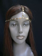 New Women Head Band Fashion Gold Metal Mini Stars Chain Sexy Hair Jewelry