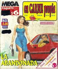 """EN CARNE PROPIA"" mexican comic SEXY GIRLS, SPICY HISTORIES #23"