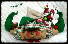 ~Primitive Shelf Sitter Elf Doll Pattern w/sack on Back!~PATTERN #292