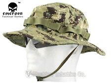EMERSON Boonie Hat Military Tactical Anti-scrape Fabric Camouflage AOR2 EM8740