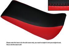 BLACK & RED CUSTOM FITS QUADZILLA SMC RAM 250 DUAL LEATHER QUAD SEAT COVER